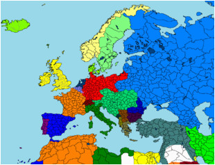 Europe 1812 Map Maps for Mappers Historical Maps thefutureofeuropes Wiki