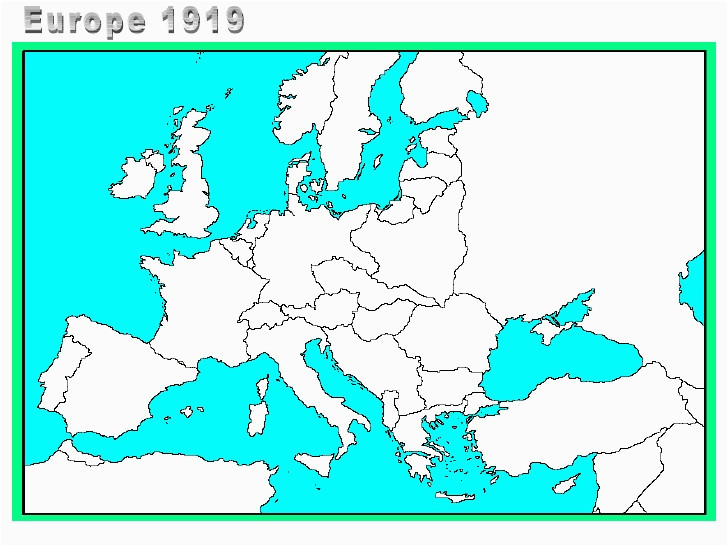 blank map of europe world war one download them and print