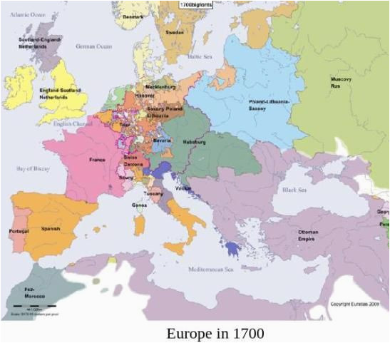 map of europe 1700 the world historical maps map ap