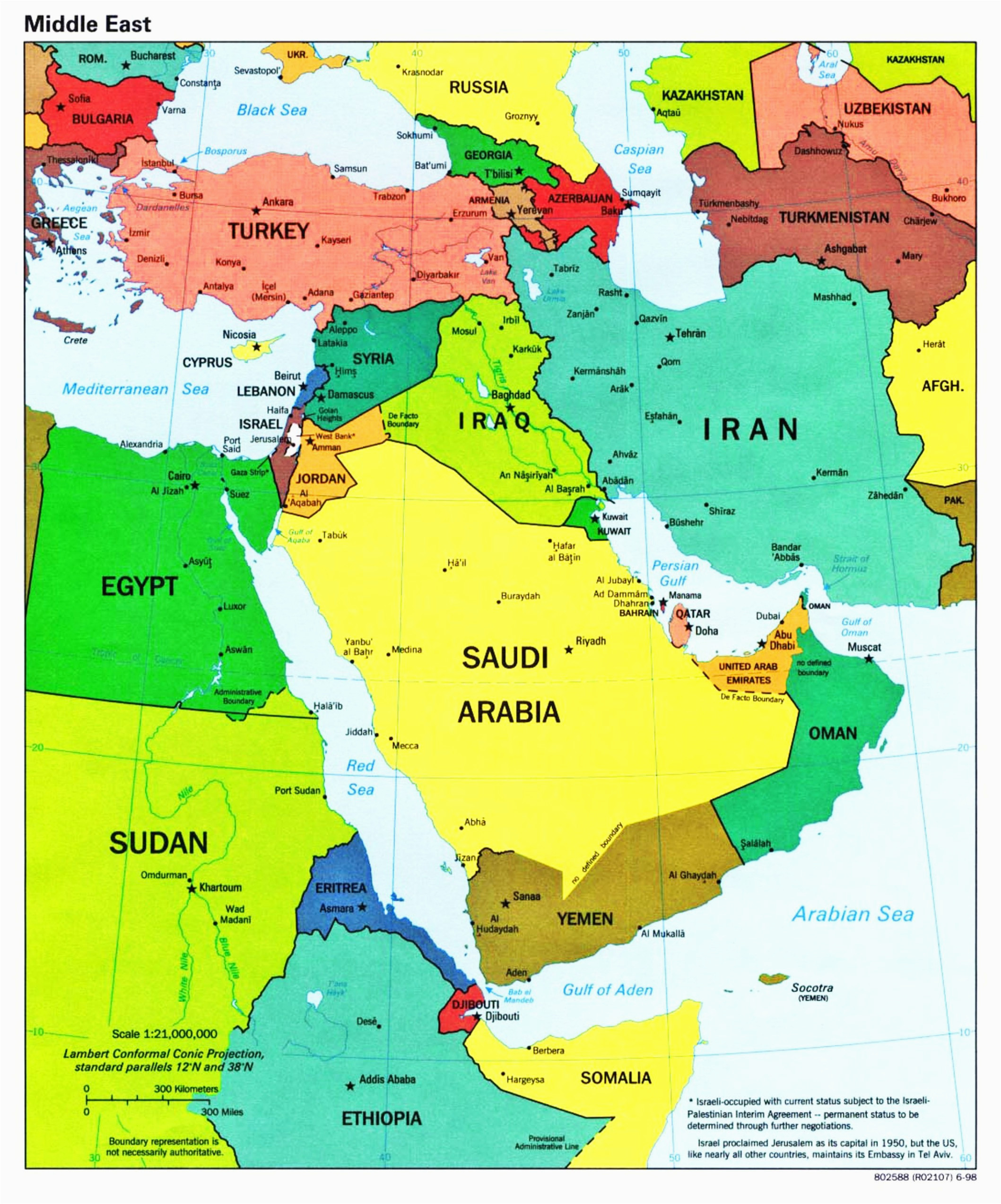 blank map of southwest asia climatejourney org