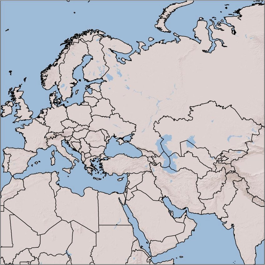 europe all types of maps