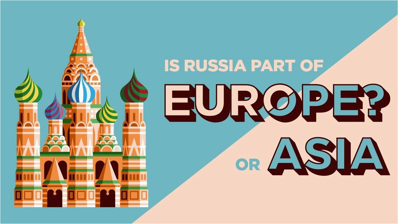 which continent is russia part of europe or asia