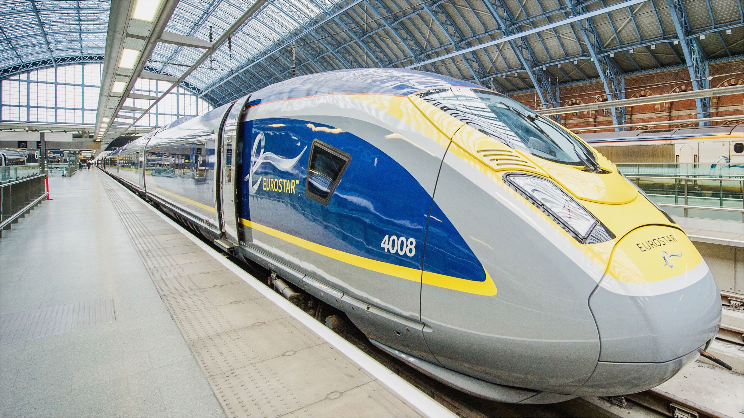 compare flying with eurostar trains from london to europe