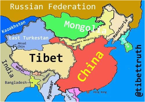 we ve redrawn the map for truetibet eastturkistan