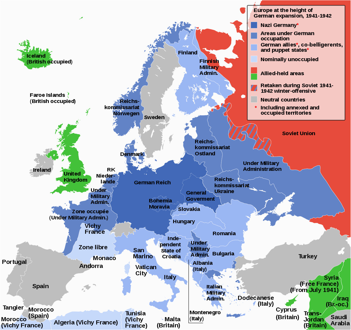 german occupied europe wikipedia world war ii world