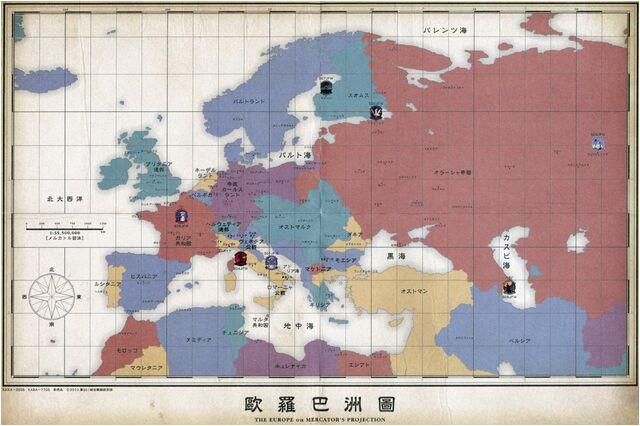 image europe map jpg world witches series wiki fandom