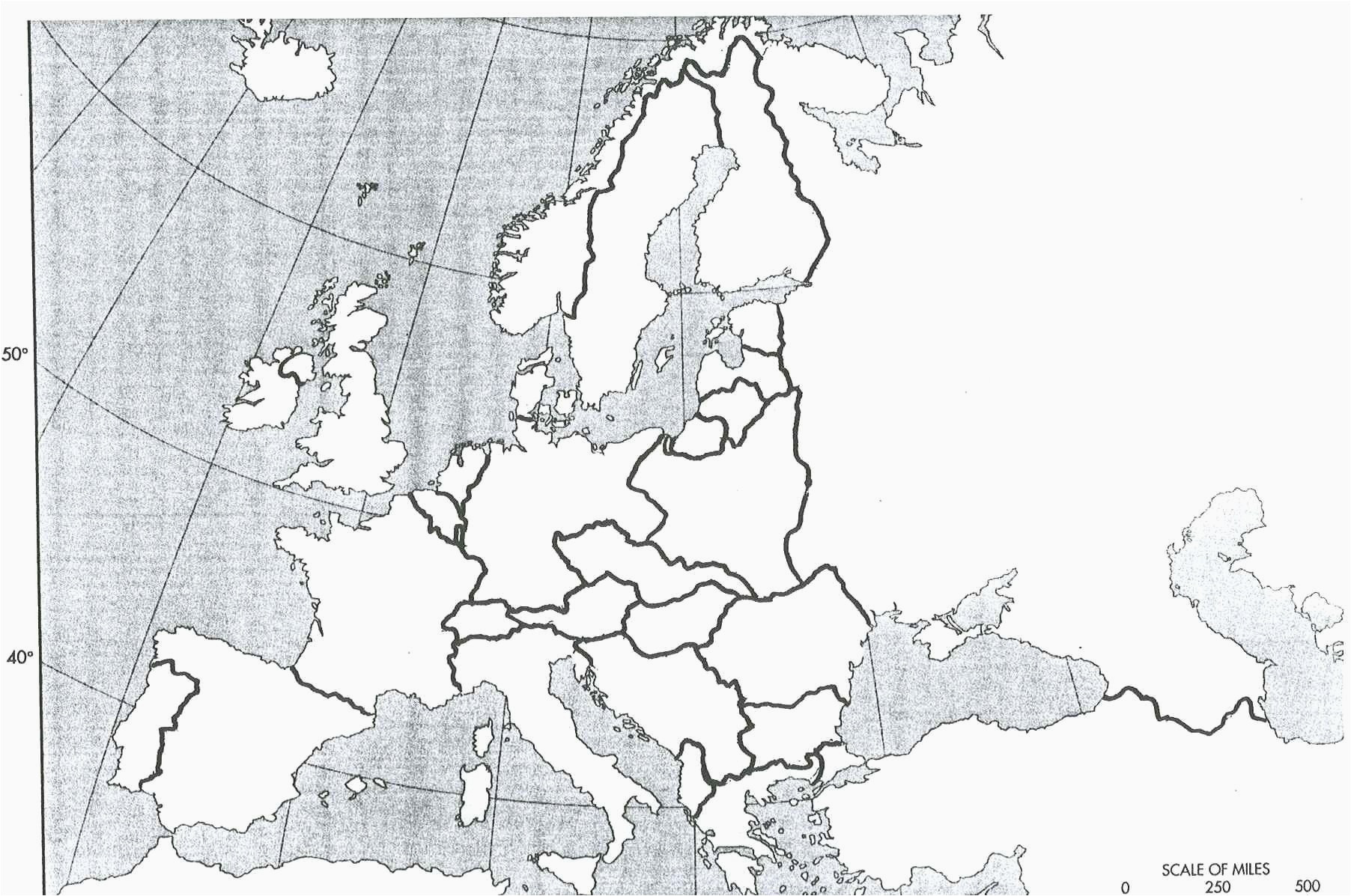Europe Map with Scale Five Continents the World Best Europe In World War 1 Map