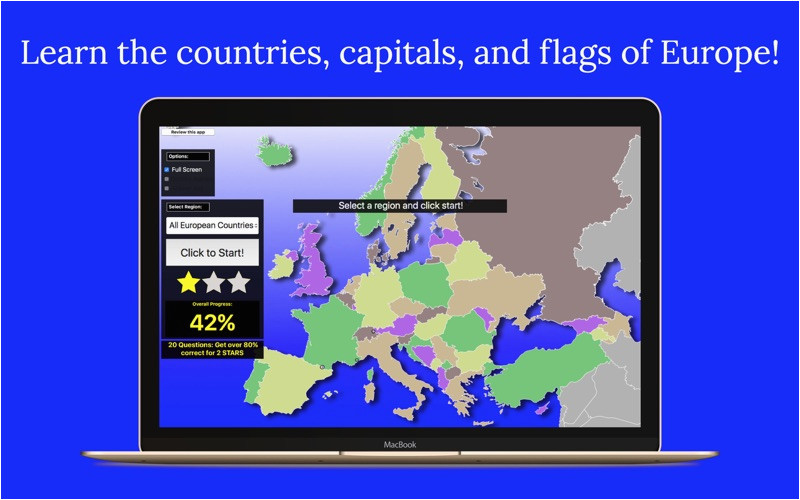 europe map quiz app price drops