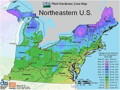 worldwide usda hardiness zones