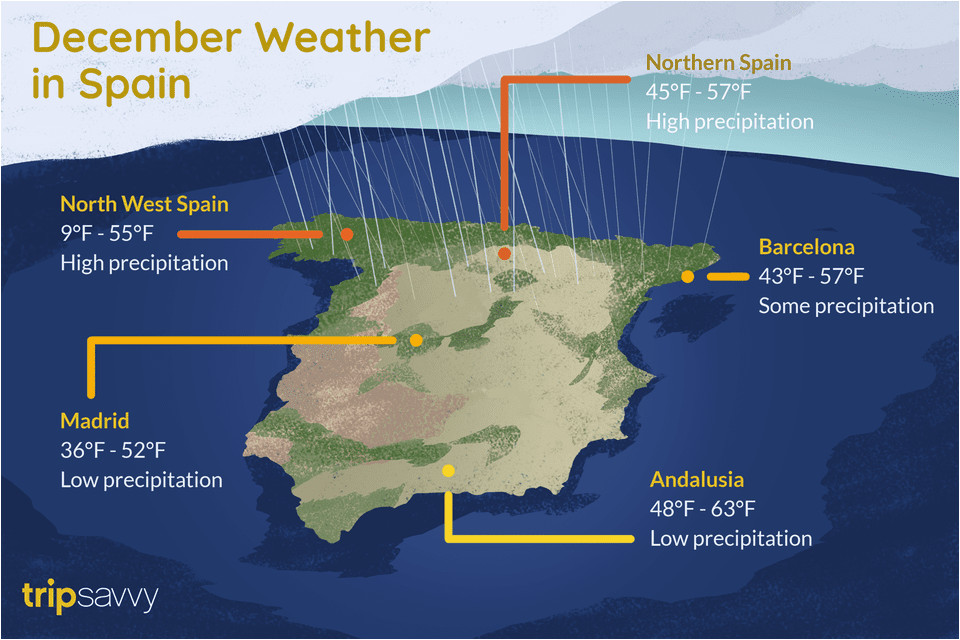 weather and things to do in spain during december