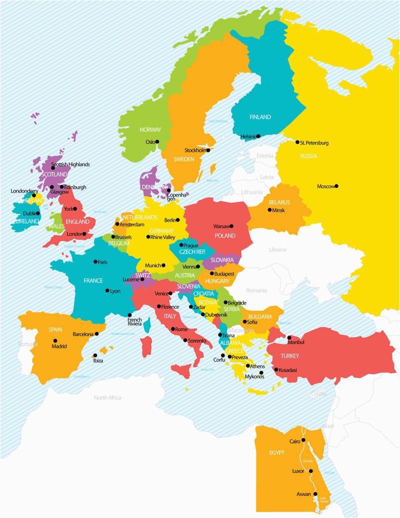 elegant europe map tour earnon me