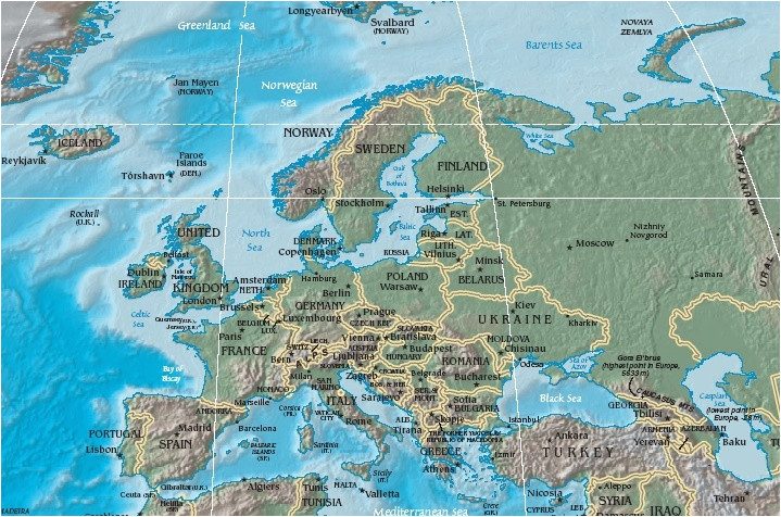 Flat Map Of Europe atlas Of Europe Wikimedia Commons