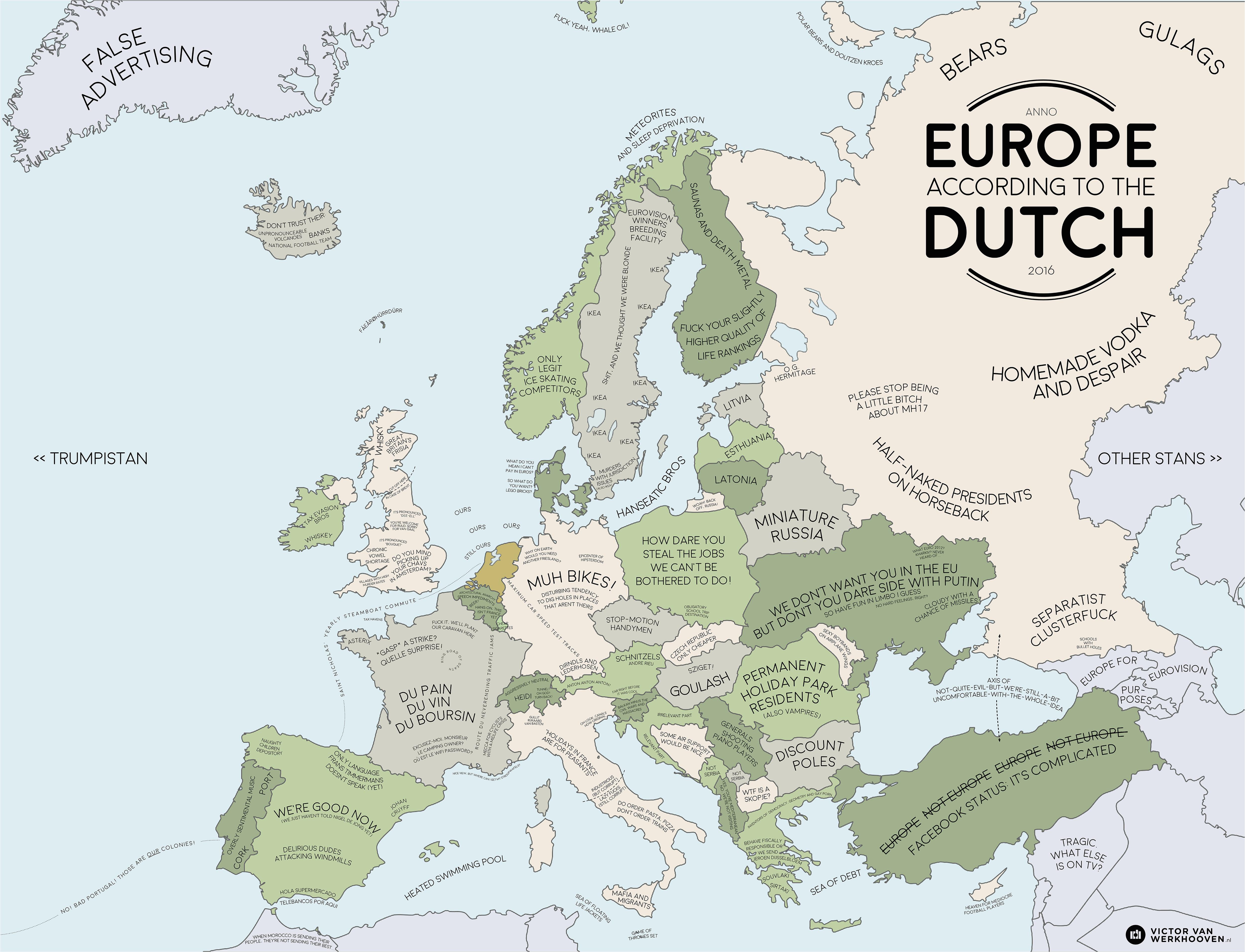 europe according to the dutch europe map europe dutch