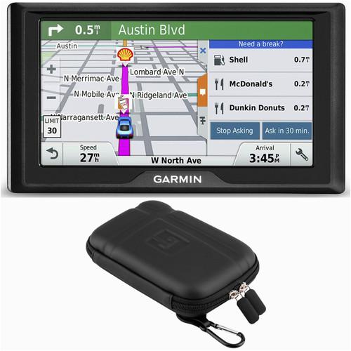 drive 50 gps navigator us 010 01532 0d soft case bundle