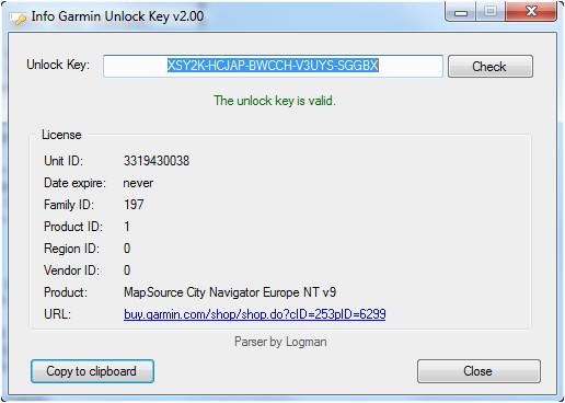 path cz fa rum zobrazit tema info garmin unlock key
