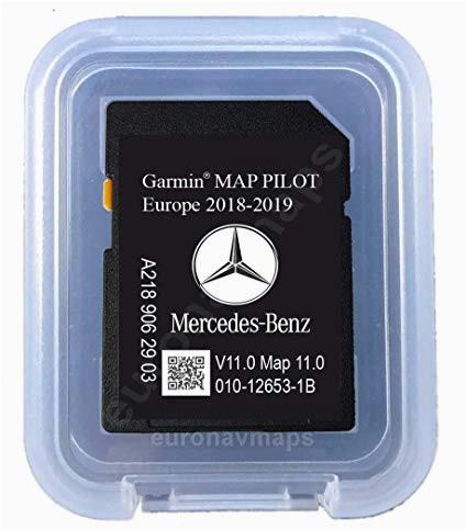 sd karte mercedes star1 garmin map pilot europe 2018 v10 a2189062903