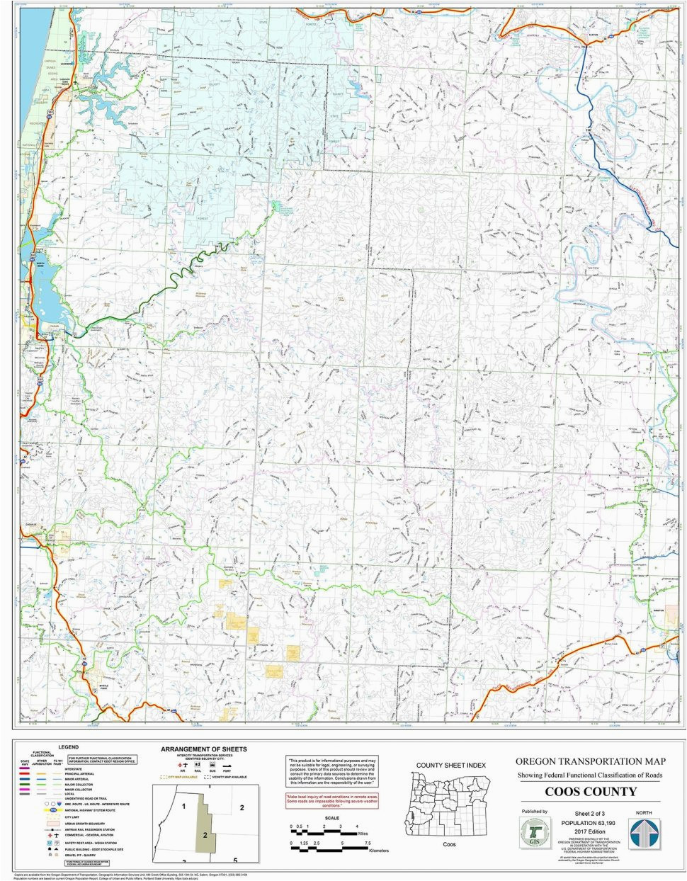 printable north america map and satellite image united