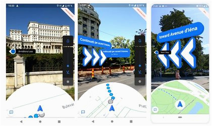 google launched today live view a new feature for google maps