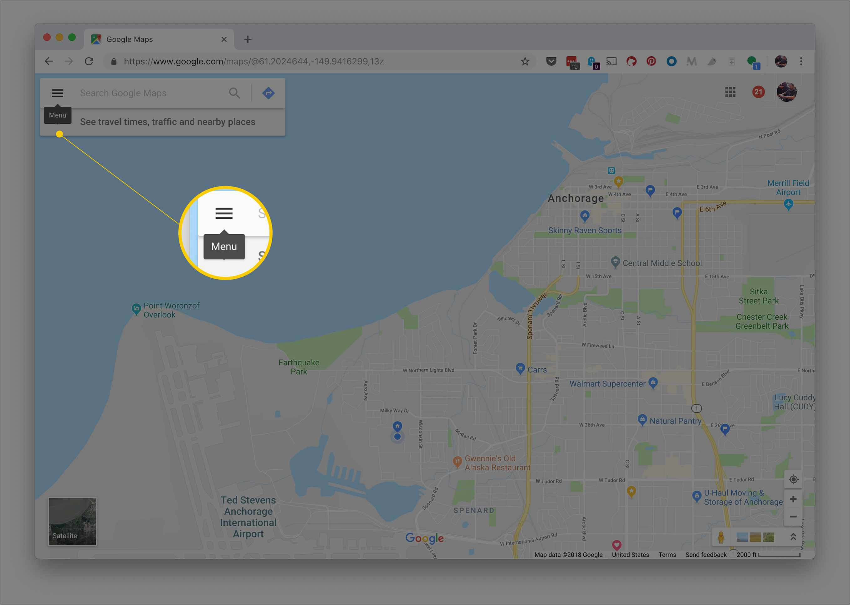 how to use google maps cycling directions