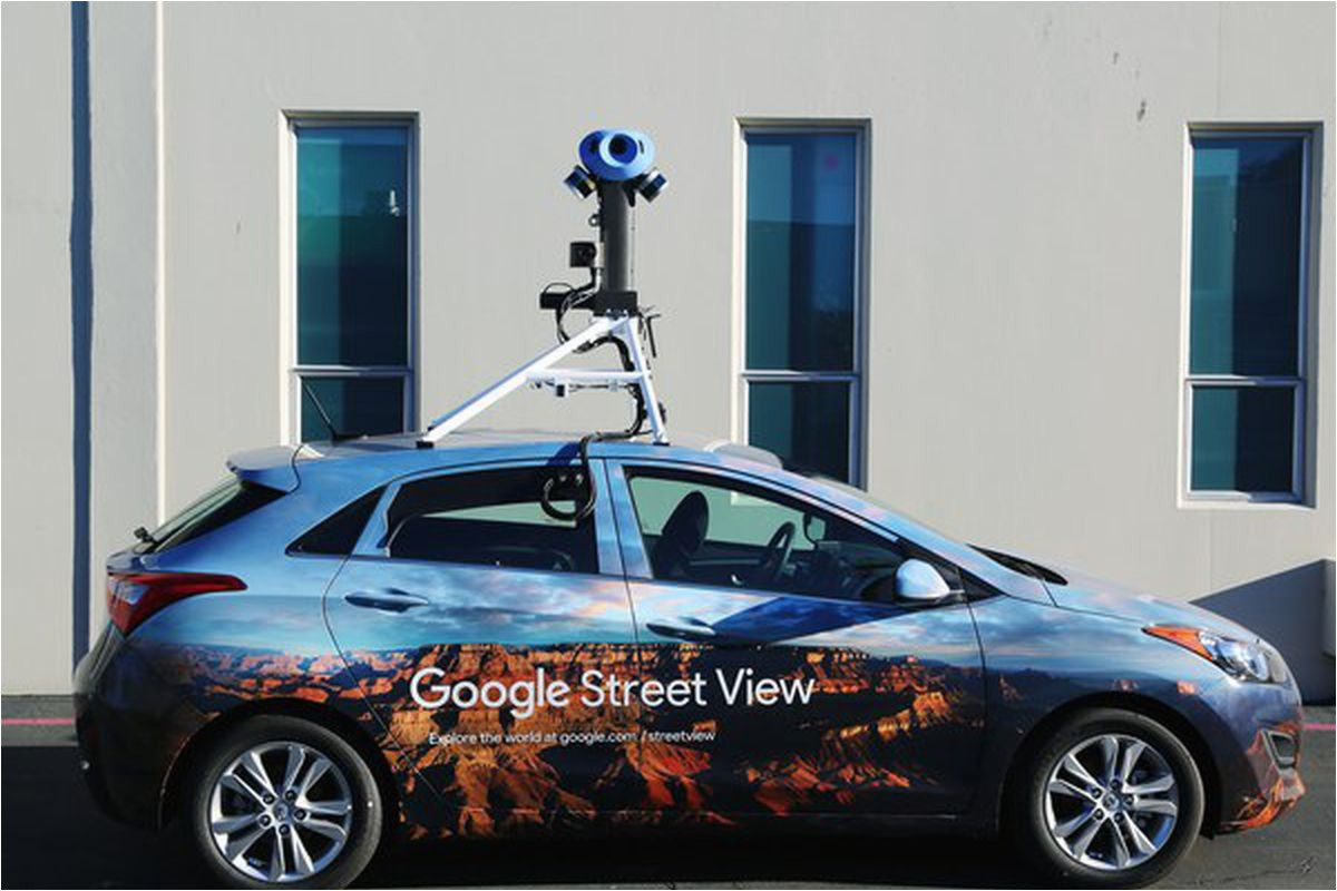 google has updated its street view cameras for the first