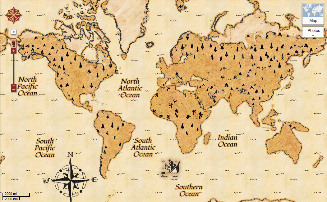 Google Maps Western Europe Find Treasure with Google Maps Google Lat Long Googlemaps