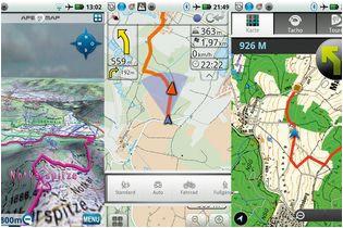 smartphone guide gps apps im test outdoor magazin com