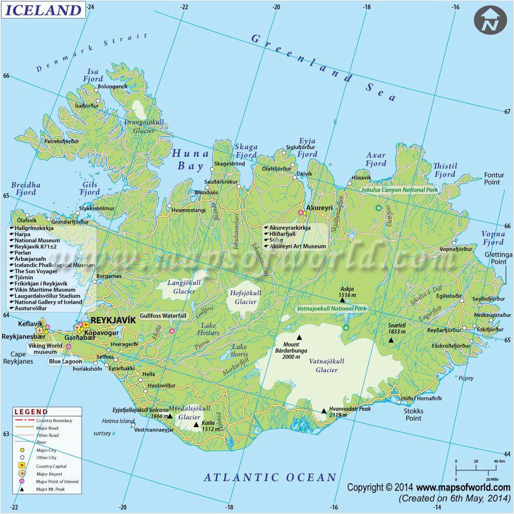 iceland map iceland iceland iceland island world
