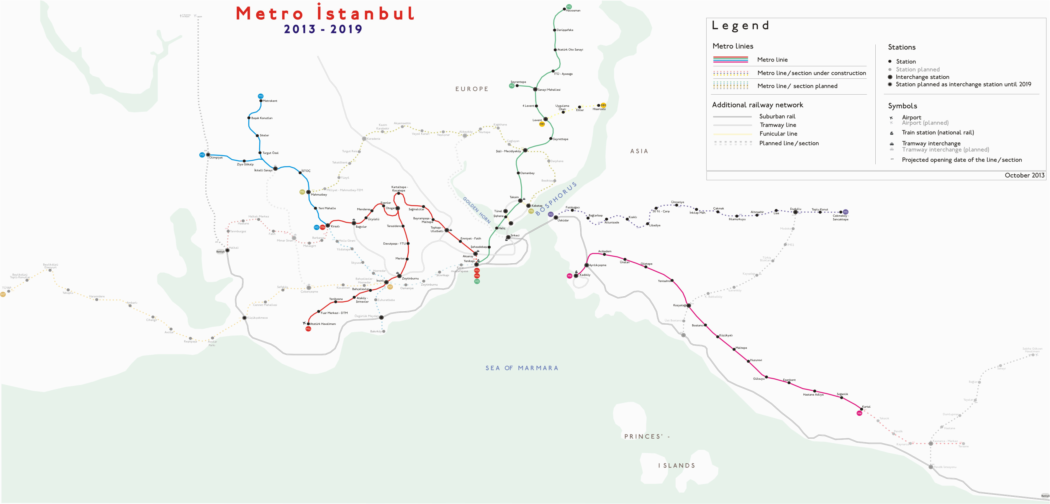 file metro istanbul map july 2013 png wikimedia commons