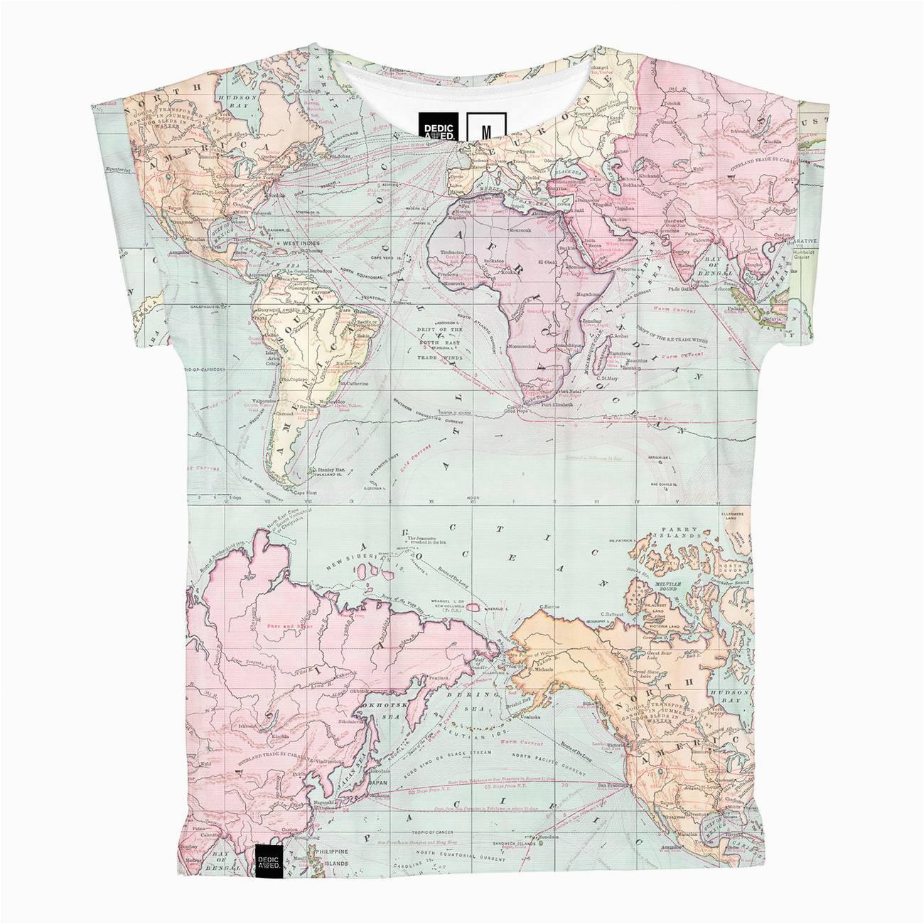 map visby shirt multi color