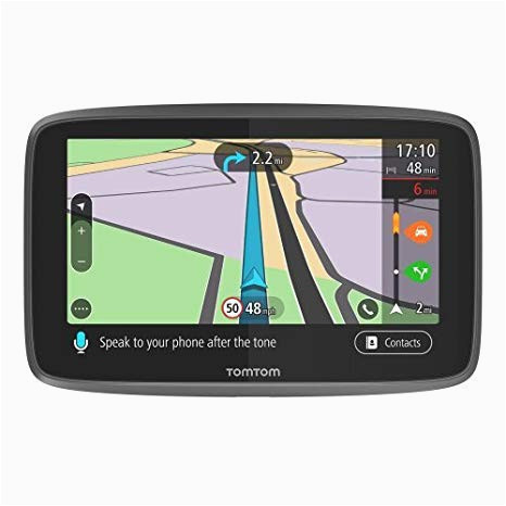tomtom go professional 6250 gps truck sat nav with full european including uk lifetime maps and traffic services designed for truck coach bus
