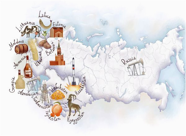 eastern europe map by oksana grivina maps eastern europe
