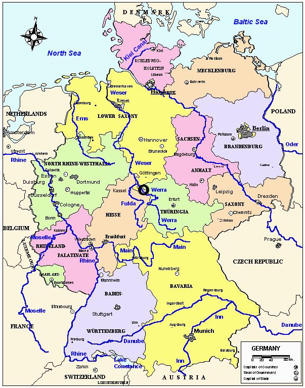 map of germany germany in 2019 germany germany travel map