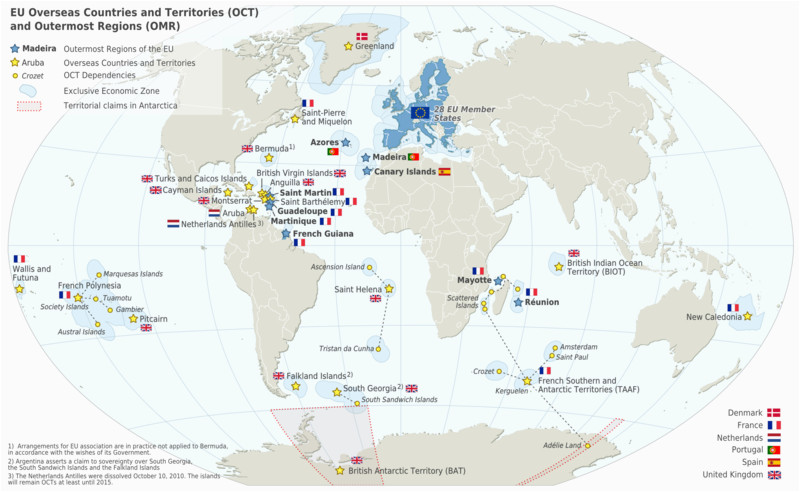 special member state territories and the european union