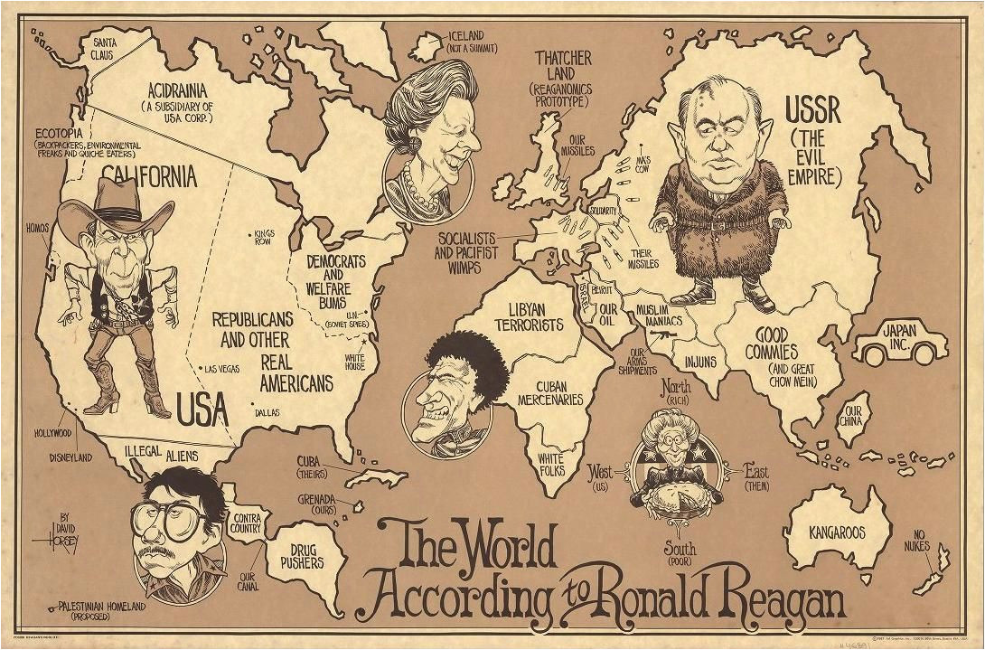 the world according to ronald reagan 1987 my favorite