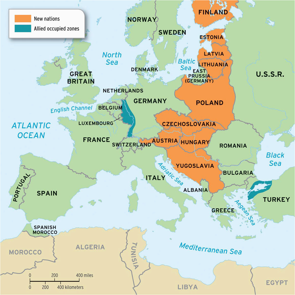 europe after world war 1 map business rating org