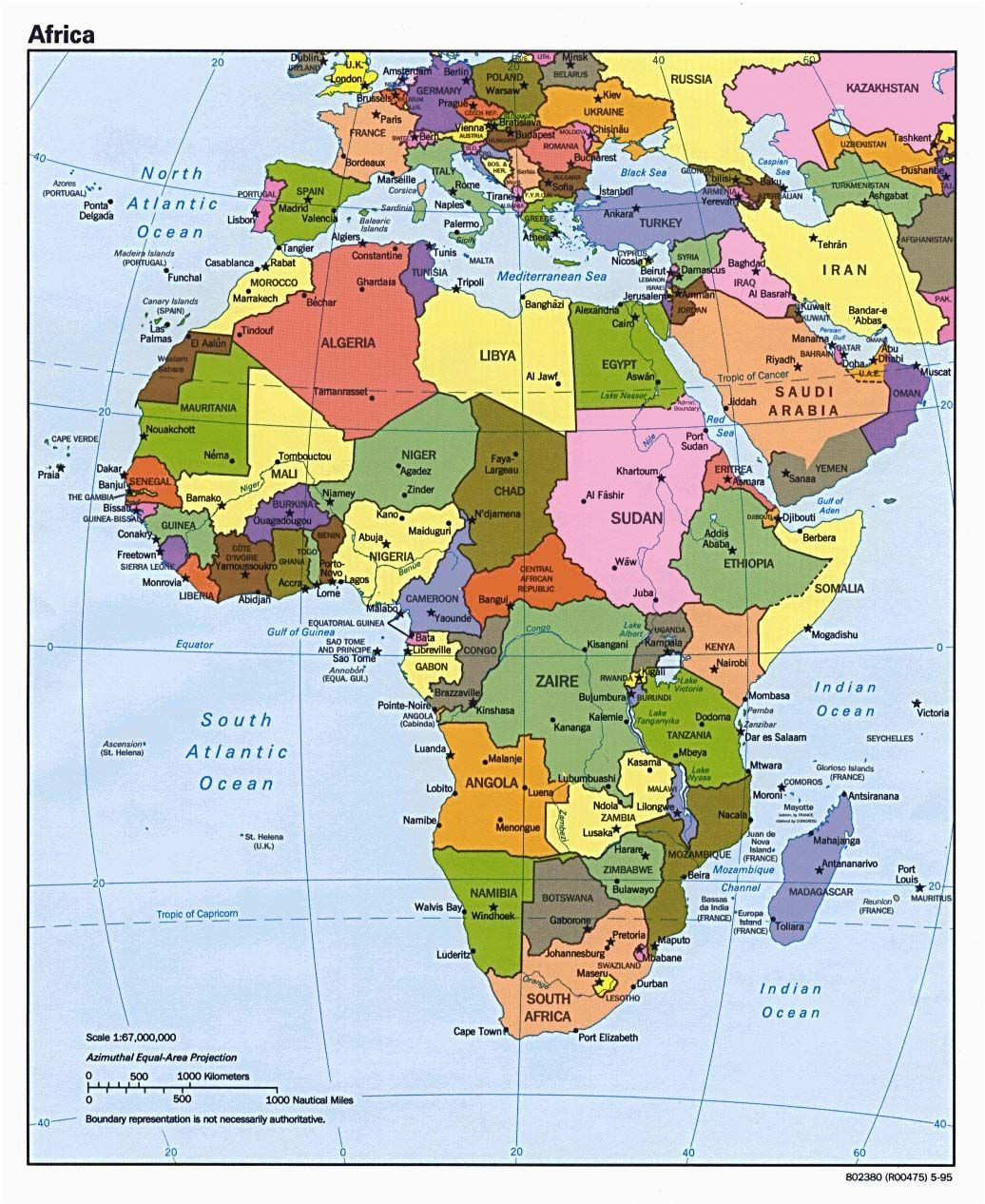 map of africa update here is a 2012 political map of