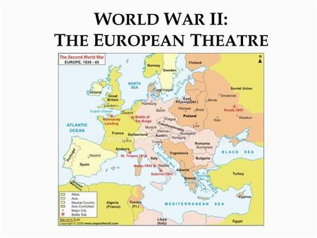 the united states in wwii the war in europe and north africa