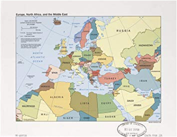 map of europe middle east and north africa map of africa