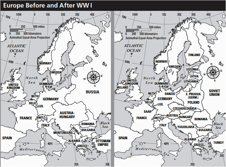 europe before after wwi teaching effects of wwi ww