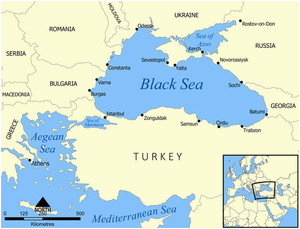 black sea facts for kids
