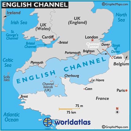 european bodies of water flashcards quizlet