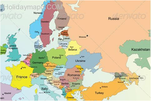 36 abundant map of eu with country names