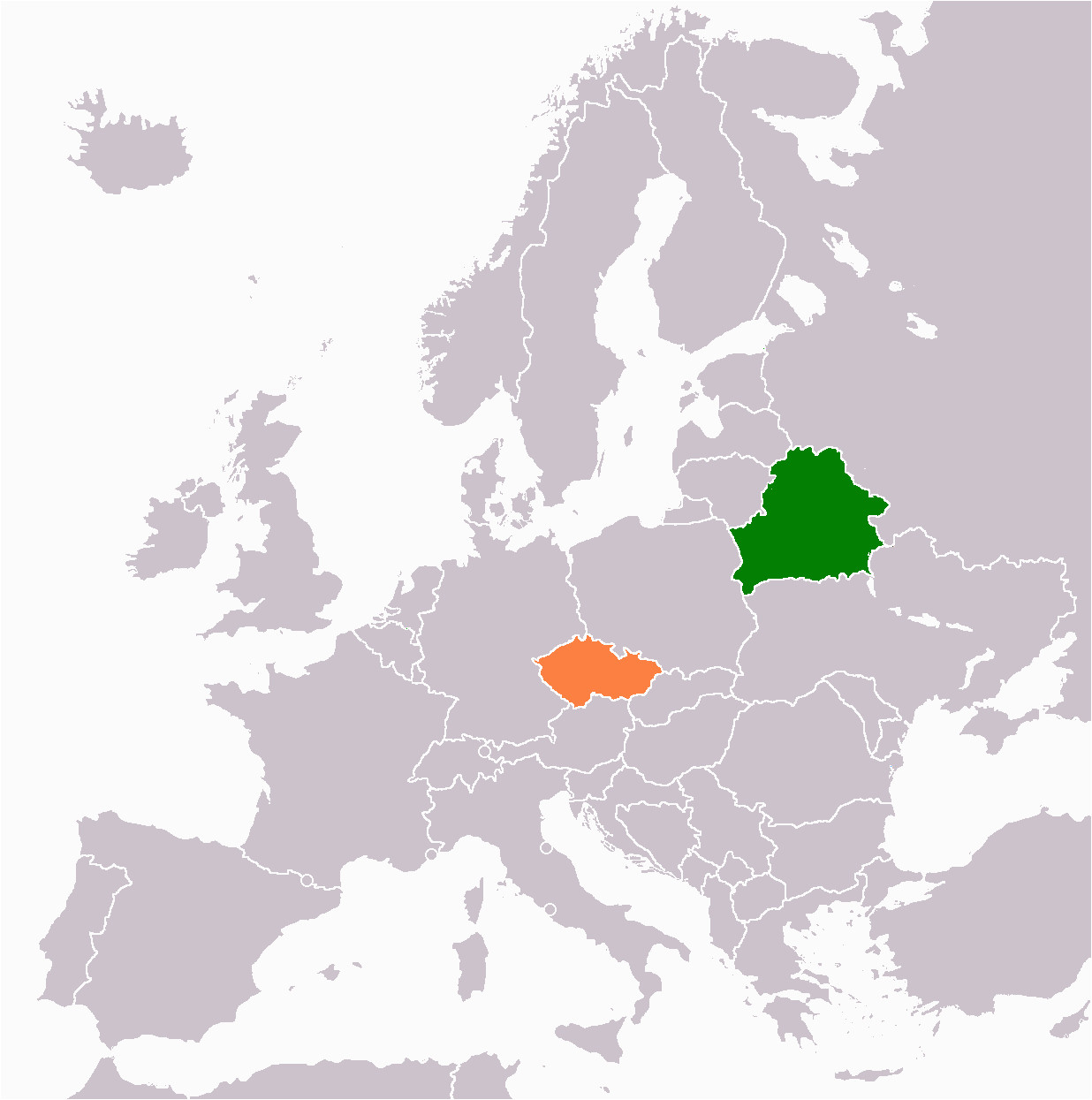 belarus czech republic relations wikipedia