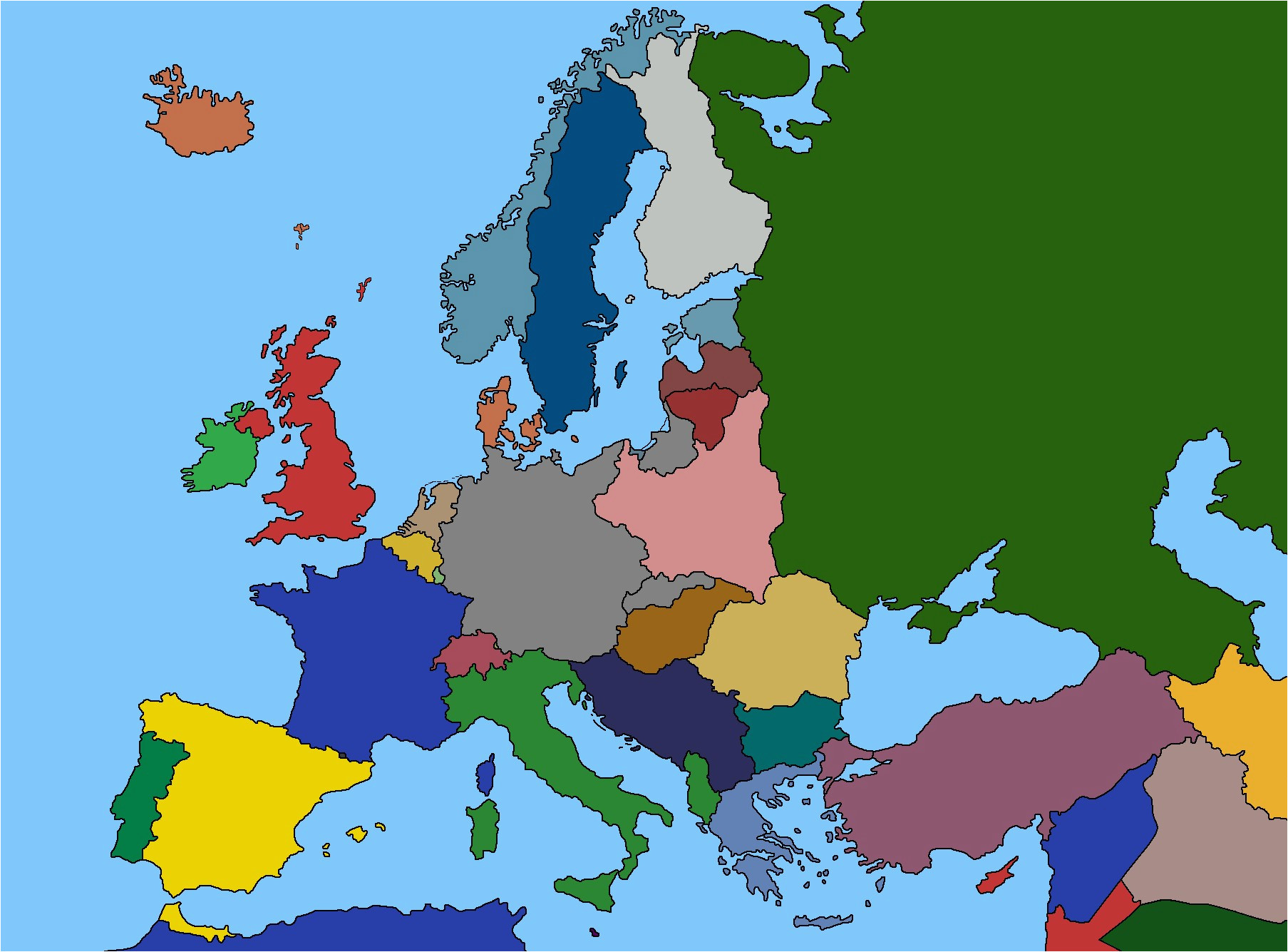 blank europe 1939 accurate maps