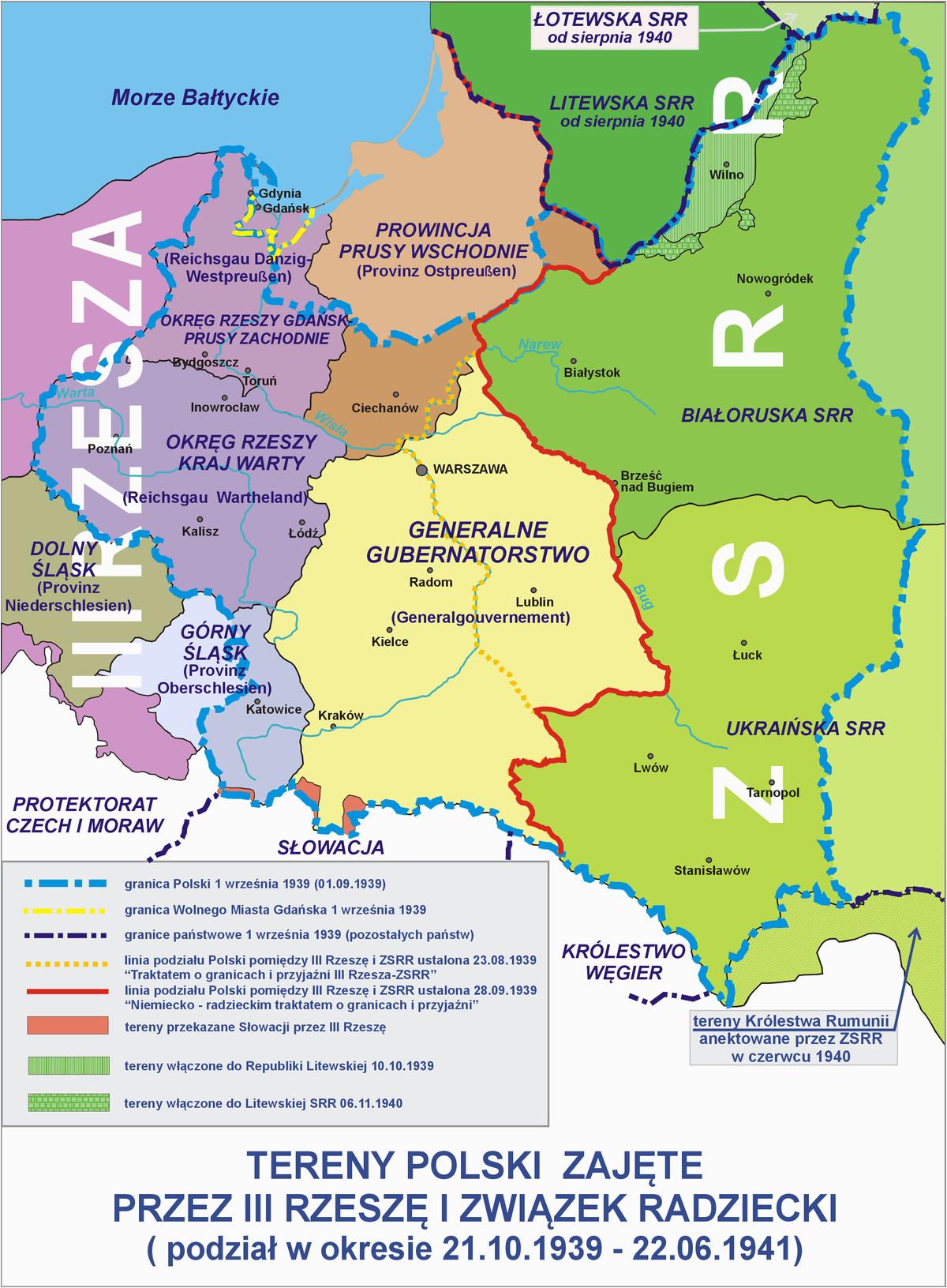 polish areas annexed by nazi germany wikipedia