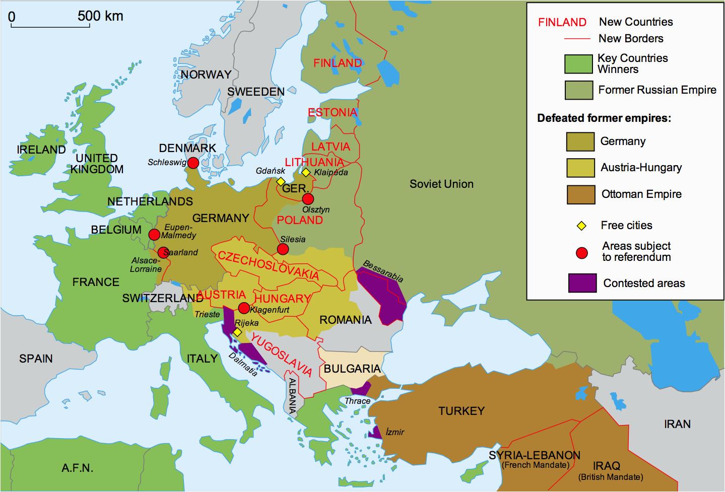 the map of world war 1 cvln rp