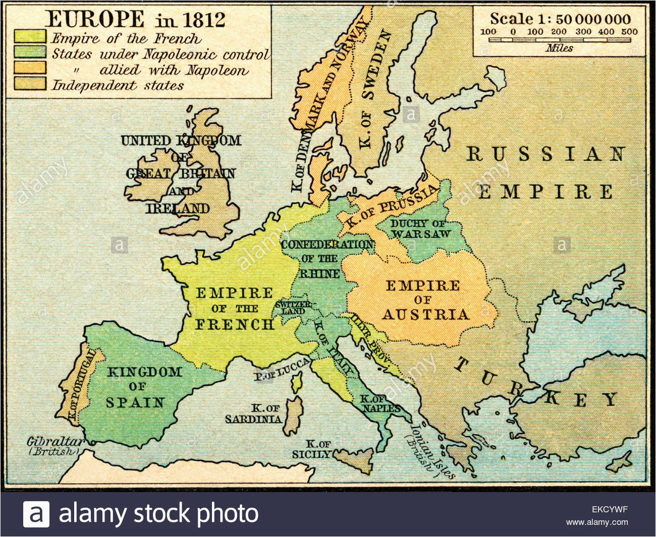 historical map of europe stock photos historical map of