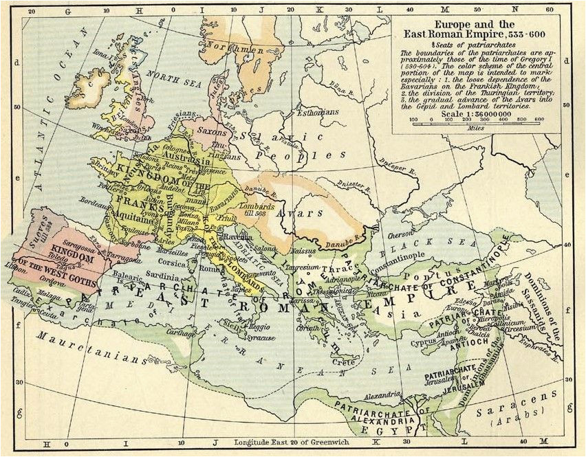 europe and the east roman empire 533 600 1911 by william