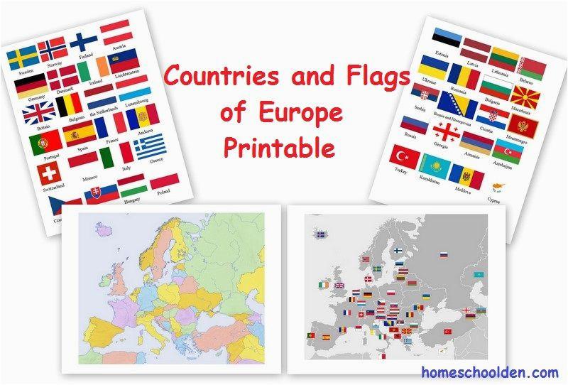 free european countries flags and printables soci studies