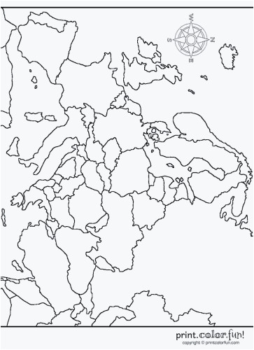 map of europe printable fun for kids map printable maps